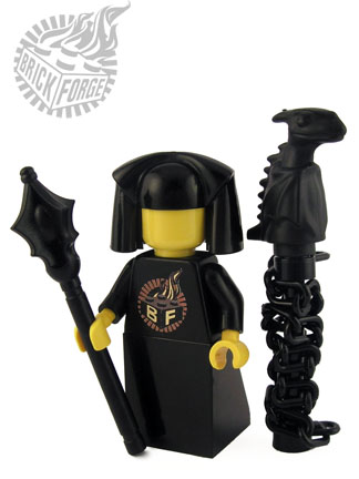 Sorcerer Staff - Black