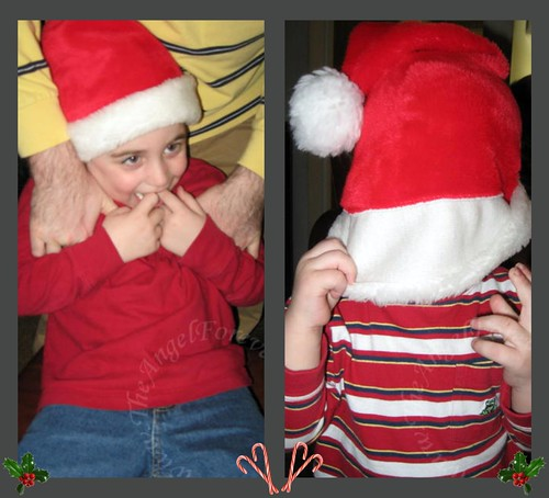 Confusion with Santa hats