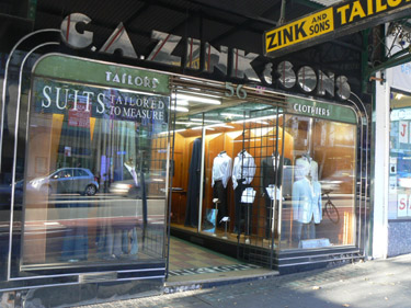 G A Zink & Sons, Darlinghurst