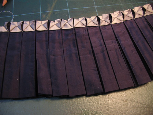 manipulation fabric - pleats