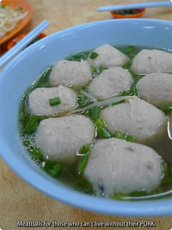 Pork Balls @ Lou Wong Tauge Ayam
