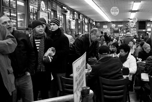 Inside Katz's Deli, NYC