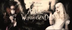 Alice in Wonderland. 2010 film by Tim Burton