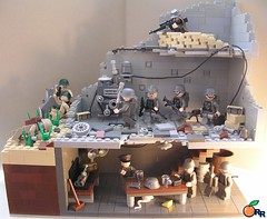 The Battle for Berlin v.2 (ORRANGE.) Tags: amazing lego general german hazel sniper ww2 soldiers armory orrange customs usarmy deutsche wehrmacht stahlhelm