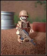 Desert Trooper (Geoshift) Tags: lego military moc callofduty customlego brickarms modernwarfare legomilitary legocustom legocustomminifig
