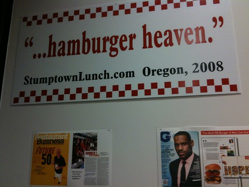 ...hamburger heaven.