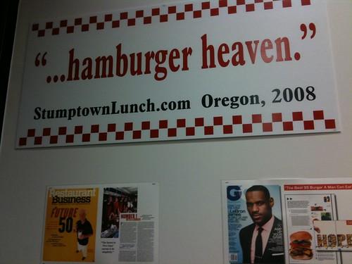 ...hamburger heaven.