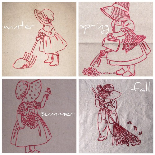 Sunbonnet Sue Seasons