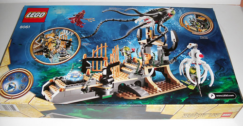 2010 LEGO Atlantis 8061 Gateway of the Squid