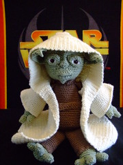 Jedi Master Yoda Amigurumi Pattern : The Worlds Best Photos of amigurumi and lightsaber ...
