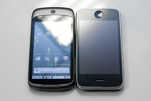 Google Nexus One vs iPhone 3G