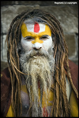 The Sadhu :: Yogi :: Rastafari :: Sage  ! (Ragstatic) Tags: world life nepal light sunset portrait people mist mountain snow mountains color weather misty fog architecture sunrise landscape interesting nikon shadows view rags candid culture peak calm mystical kathmandu serene tall hop himalaya magical himalayas journalism sadhu bhaktapur tallest nagarkot relevant photojounalism d700