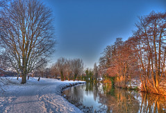 The River Wey - HDR 3