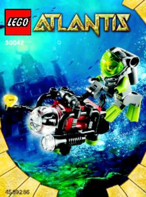 2010 LEGO Atlantis 30042 Mini-sub