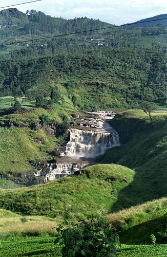 St. Clair waterfall, Sri Lanka