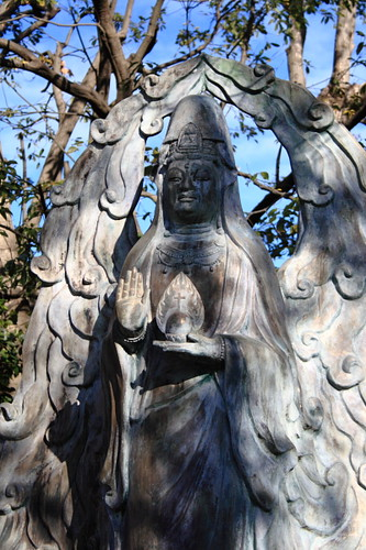 Guanyin statue found at Tenryuji, Kyoto