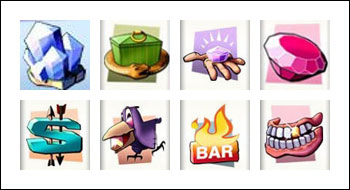 free Diamond Valley slot game symbols