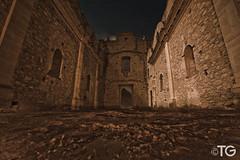 A media Noche (Stromboly) Tags: longexposure noche arquitectura long iglesia ruina convento templo muros misin quertaro largaexposicin bucarelli 27seconds francisacanos misinbucarelli