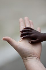 helping Haiti (Andy Kennelly) Tags: world poverty red rescue love beautiful canon hope haiti earthquake hands focus chaos peace child hand sad cross skin destruction text nail touch fingers poor 85mm orphan orphanage desperate relief missionary help harmony disaster difference impact unitednations need change thumb effort caribbean marines tribute wrist sos emotional emergency suffering powerful obama depth colossal hold donations humanitarian touching helping donate pledge missionaries haitian barack aftershock poignant pledges funds affect portauprince nocommunication leveled sooc responds 90999