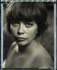 The Mrs (nwl_67) Tags: polaroid 4x5 crowngraphic 5x4 ektar203mm polaroidt55