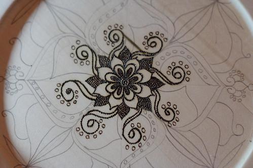 Mandala plates10015