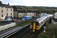 12-21 153328, 153304 (1119 Barrow-Carlisle) Harrington (delticalco) Tags: rail trains railways 153 dmu northernrail