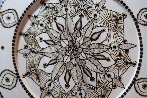 Mandala plates10014
