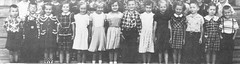 Students of Grades 1 and 2 of St John School in Seward, Nebraska, in 1952