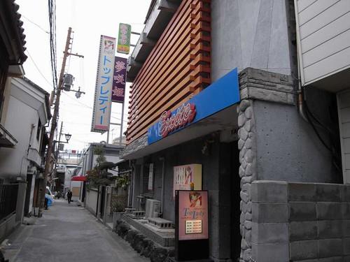 奈良町界隈-トップレディー