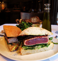 Piperade - Tuna Sandwich (jumanggy) Tags: sanfrancisco food feed