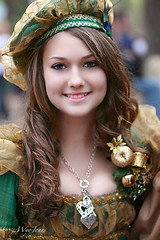 Beauty in Holiday Fineries (wyojones) Tags: woman girl beautiful beauty smile hat festival hair hearts necklace eyes pretty texas dress princess royal makeup hairdo lips trf greeneyes faire renfaire brunette lovely renaissancefestival corsage renaissance renaissancefaire renfest maiden rennie aristocrat heartstopper texasrenfest texasrenaissancefestival plantersville blondehighlights fineries ladieshat toddmission wyojones