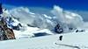 Monte Bianco - Valèe Blanche (Marioleona) Tags: snow mountains alps ice clouds alpes landscape nuvole paisaje paisagem glacier mount climbing neve monte blanche courmayeur chamonix alp mont glaciar bianco blanc paesaggio landschap gmt ghiaccio ghiacciaio vallèe mariobrindisi cainapoli