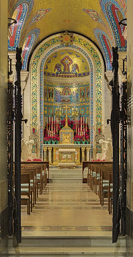 Cathedral Basilica of Saint Louis, in Saint Louis, Missouri, USA - Blessed Sacrament Chapel
