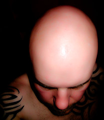 Slap Head (CWhatPhotos) Tags: pictures camera blue portrait man male tattoo digital ink self canon that photo foto power with shot photos head egg bald picture tribal powershot tattoos have slap compact slaphead s90 inked tribaltattoo tribaltattoos selfportraitsunlimited cwhatphotos