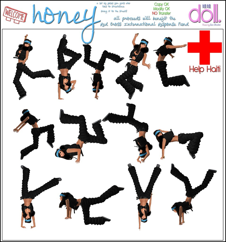 HELP HAITI - Honey