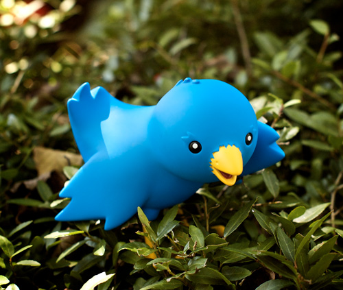 Twitter Bird Toy by rikulu, on Flickr