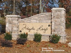 """Dusty Gray European Cobblestone Entrance Sign • <a style=""""font-size:0.8em;"""" href=""""http://www.flickr.com/photos/40903979@N06/4288596052/"""" target=""""_blank"""">View on Flickr</a>"""