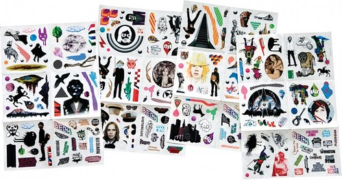 Beck stickers