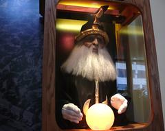 the fortuneteller (Lisa Toboz) Tags: museum pennsylvania machine wax fortuneteller crystalball oilcity