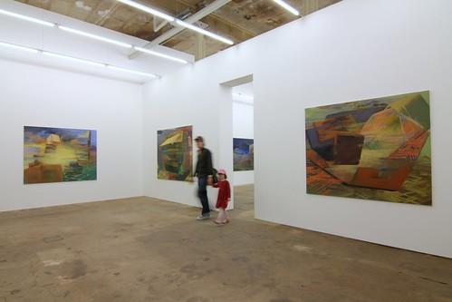 3. raum rechts Filipp Rosbach Galerie  Leipzig Mai 2008 Foto:Thomas Steinert