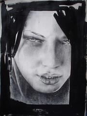 DSC00283 (emanuela comito) Tags: donna occhi chiaroscuro ritratti bianco nero bocca volto espressioni