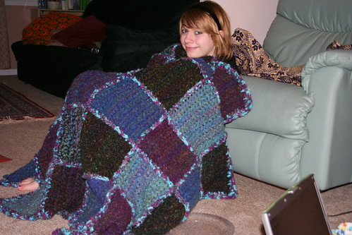 Katherine's blanket.