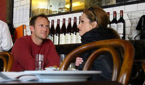 Giada De Laurentiis lunching at Church and State
