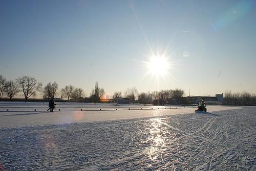 Eislaufen bis es kracht
