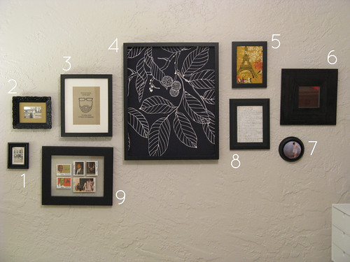 Picture Wall, Numbered