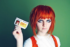 Multipass (basistka) Tags: orange canon movie eos poland redhead 7d leeloo multipass basistka