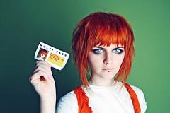 Multipass (basistka) Tags: orange canon movie eos poland redhead 7d leeloo multipass basistka