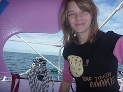 A new t-shirt from Jessica's mum (Jessica_Watson) Tags: sailing solo aroundtheworld 16yearold unassisted jessicawatson settingouttobetheyoungestpersontosailsolononunassistedaroundtheworld jessicawatsonsailingsolounassistedaroundtheworld16yearoldsettingouttobetheyoungestpersontosailsolonon unassistedaroundtheworld