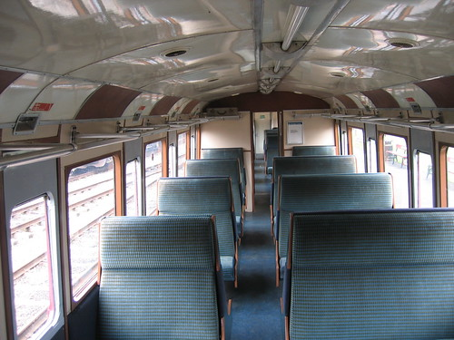Train interior, Bollywood filming at private railway