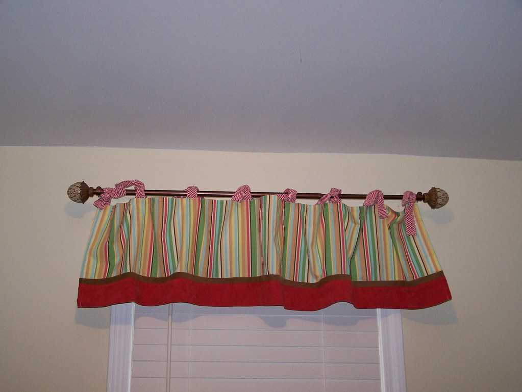 front of valance